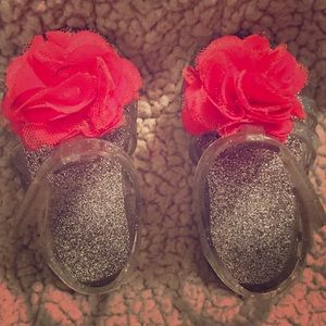 Other - Cute Toddler jelly sandals wia cute flower size 2